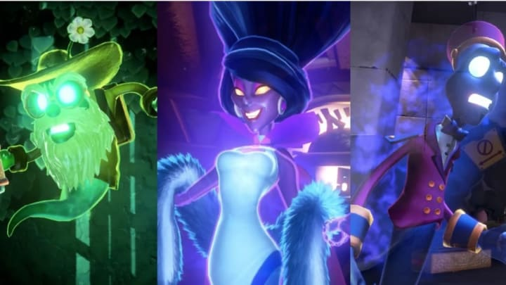 Luigi S Mansion 3 All Bosses Every Known Boss
