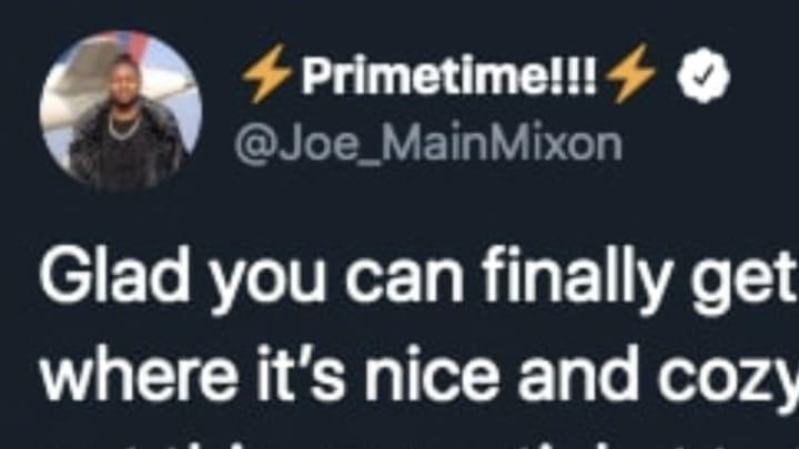 Cincinnati Bengals RB Joe Mixon shows love to fan living on roof