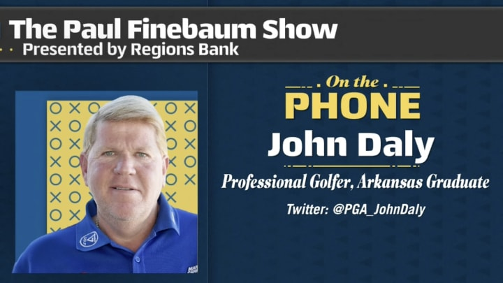 John Daly on Paul Finebaum Show