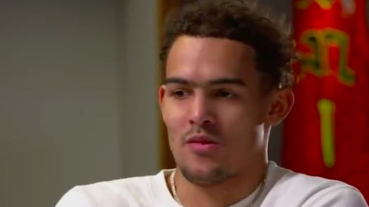Atlanta Hawks star guard Trae Young