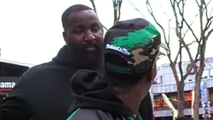 Kendrick Perkins surprised Celtics fans who trashed him in an interview