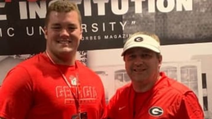 4-star offensive tackle Josh Braun has backed off his Georgia commitment right before Signing Day.