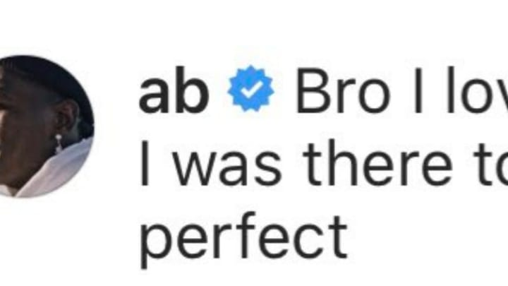 Antonio Brown Weirdly Comments On Random Mason Rudolph Instagram Post From November To Show Support