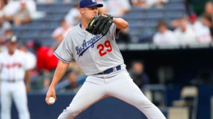 Dodgers pitcher Jason Schmidt