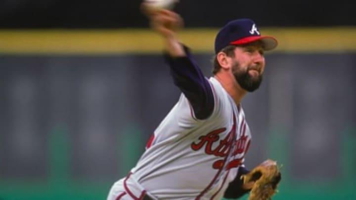 Braves pitcher Bruce Sutter
