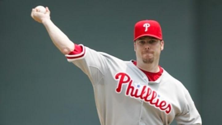 Phillies pitcher Adam Eaton