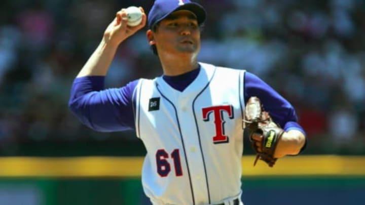 Rangers pitcher Chan Ho Park
