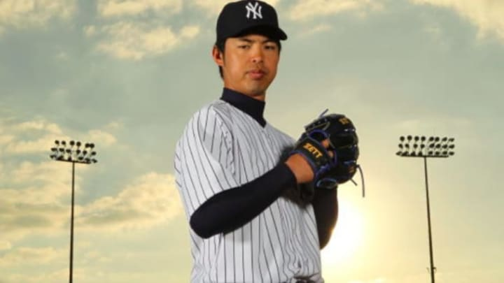 Yankees pitcher Kei Igawa