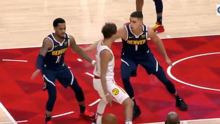 Hawks PG Trae Young makes insane moves vs Nuggets