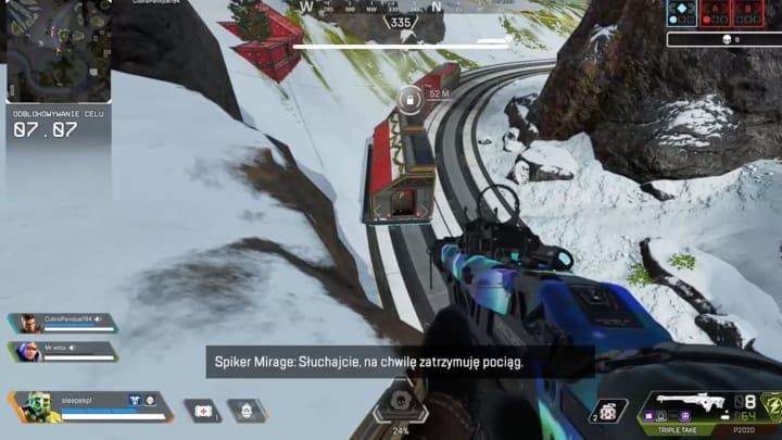 A 4-year-old kid executed an enemy Crypto during an Apex Legends match.