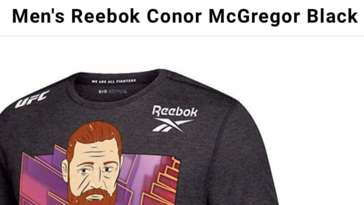 Conor McGregor cannot possibly walk out for the main event at UFC 246 wearing this shirt. He CANNOT.