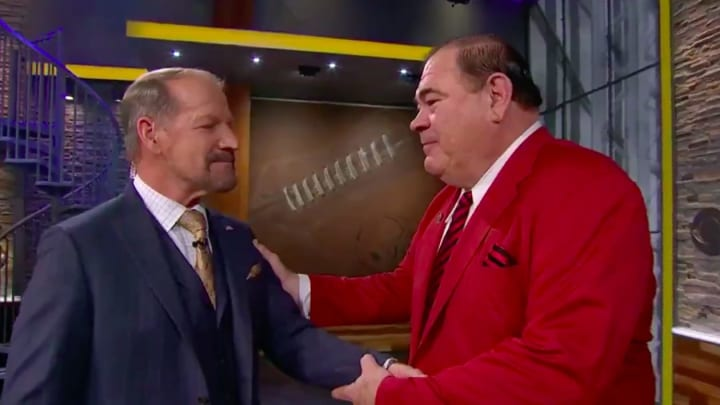 Bill Cowher was given an amazing surprise on live television.