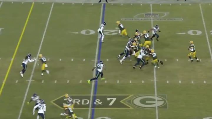Aaron Rodgers to Davante Adams. Touchdown, Green Bay Packers.