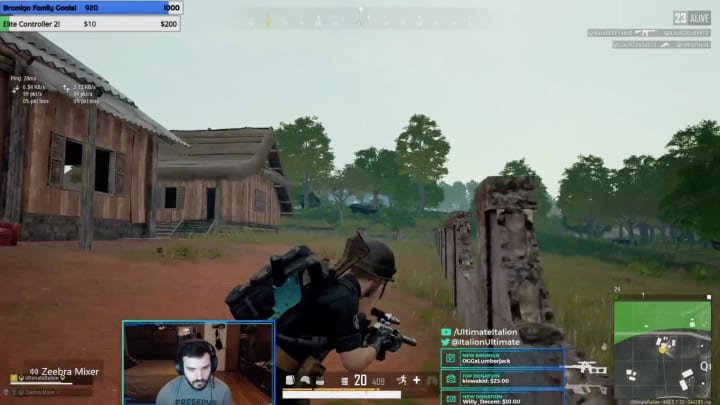 A streamer and PUBG player posted a clip on Reddit showing off an annoying game.