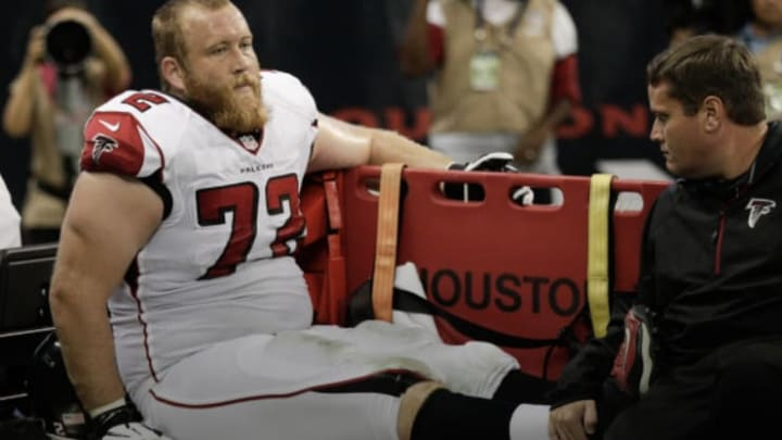Sam Baker of the Atlanta Falcons