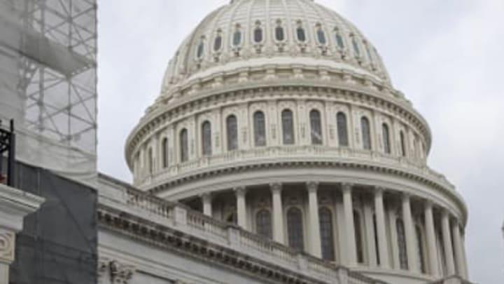 Congress! Not David Baker's home.