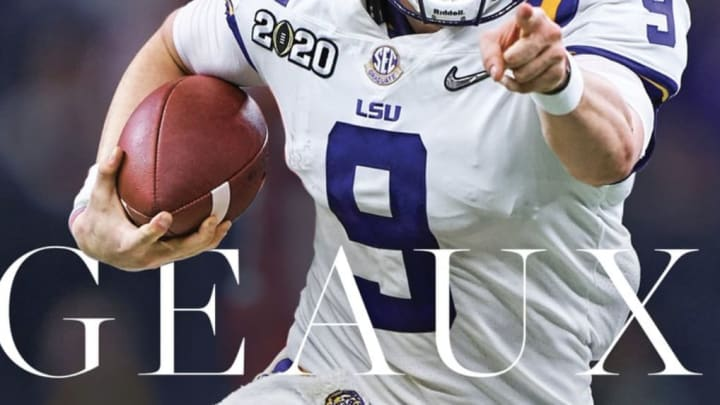 The latest Sports Illustrated cover honors the LSU Tigers and quarterback Joe Burrow
