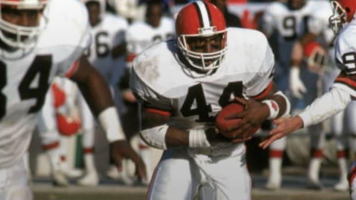 Cleveland Browns RB Earnest Byner
