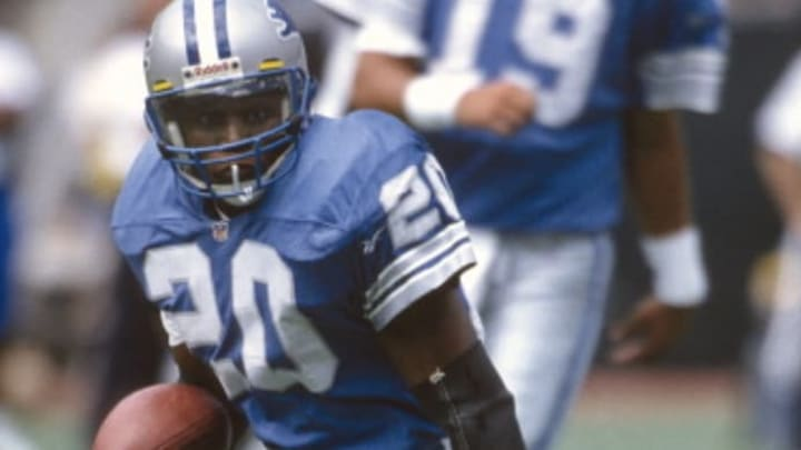 Detroit Lions RB Barry Sanders