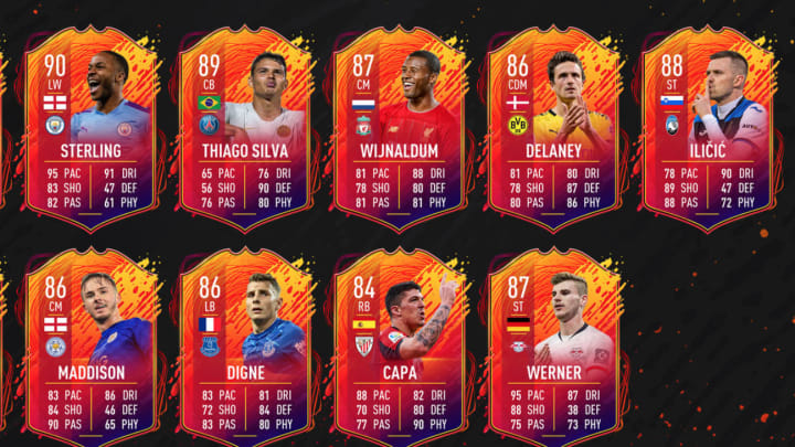 Sterling Fifa 20 Card