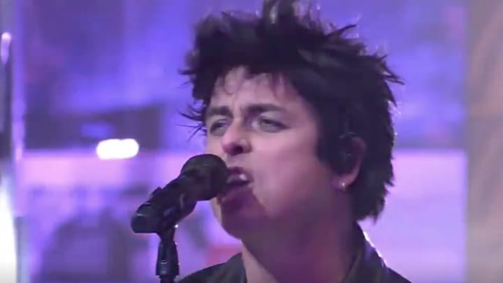 Green Day's NHL All-Star Game concert got NSFW