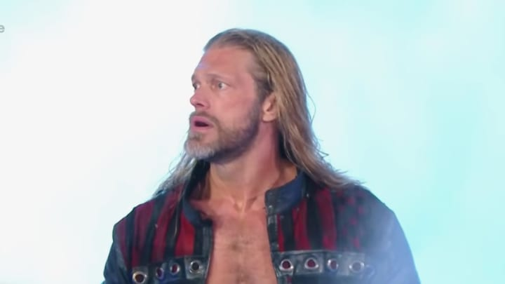 Edge at WWE Royal Rumble