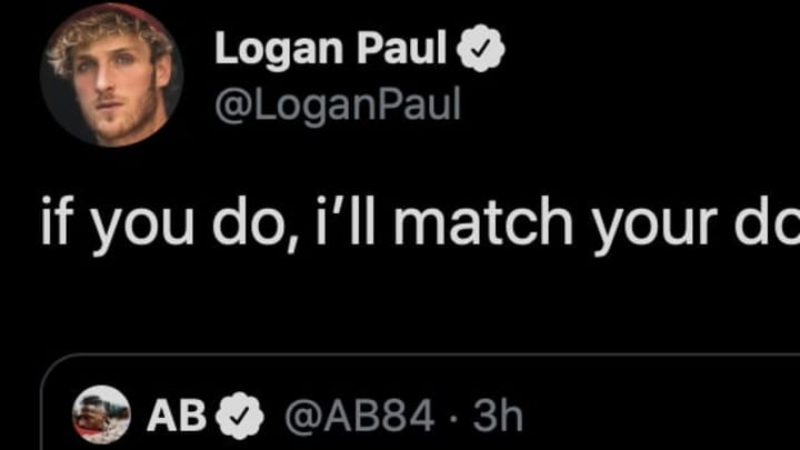 Are Antonio Brown and Logan Paul going to lace up the gloves? Hopefully not.