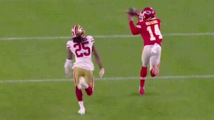 Sammy Watkins' clutch catch against Richard Sherman set up Chiefs' Super Bowl-winning touchdown.