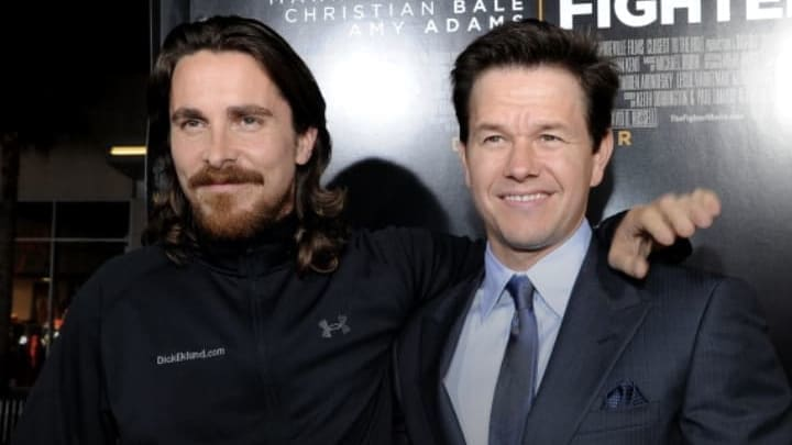 Mark Wahlberg and Christian Bale