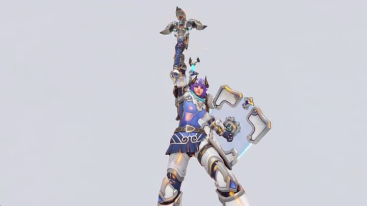 The GOAT Brigitte skin was released in celebration of the start of the Overwatch League on Feb. 8.