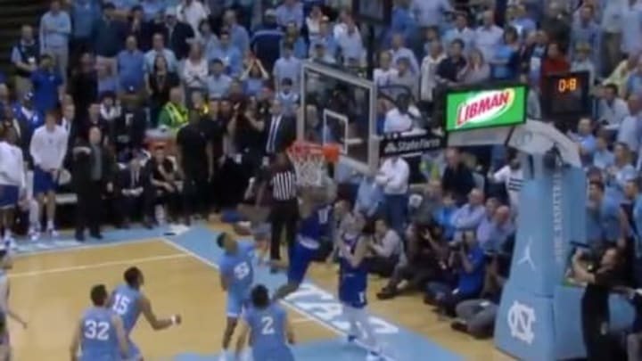 Wendell Moore tips in game-winning basket for Duke vs UNC