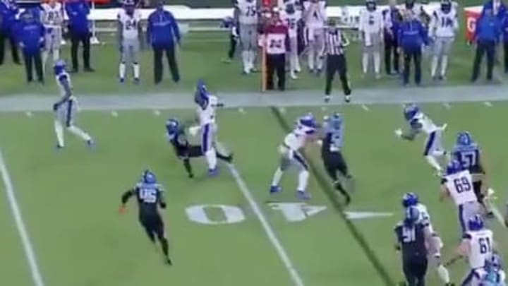 XFL RB Christine Michael levels Dallas Renegades defender with big block