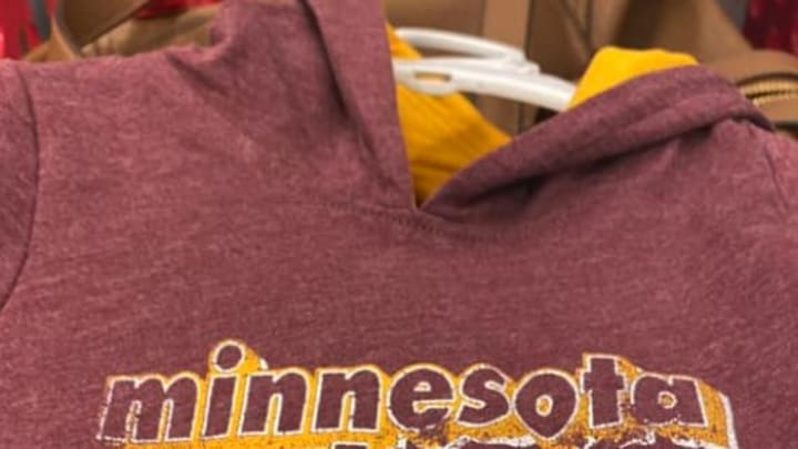 Target got busted for selling University of Minnesota items with the wrong team nickname on them.