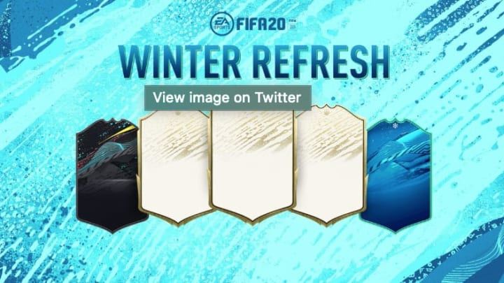 FIFA 20's Winter Refresh starts Friday and EA Sports revealed the top 50 players.