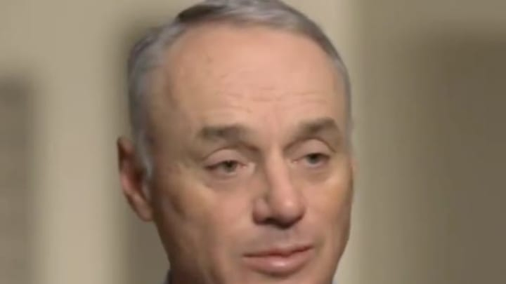 Rob Manfred continued to make a fool of himself discussing the Astros' sign-stealing scandal