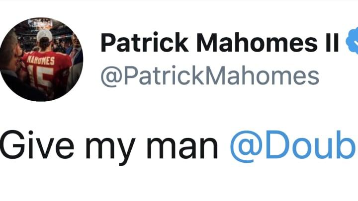 Patrick Mahomes is not happy Aaron Gordon got snubbed