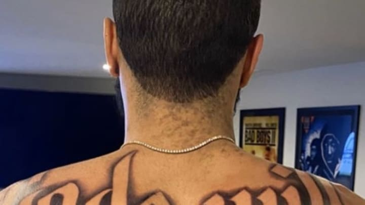 Jayson Tatum has some questionable new ink