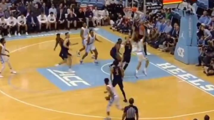 Star freshman Cole Anthony scores first collegiate points with the Tar Heels on Wednesday.