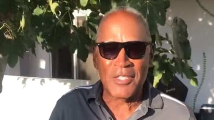 OJ Simpson talks about Antonio Brown's rape allegations...and his fantasy football team.