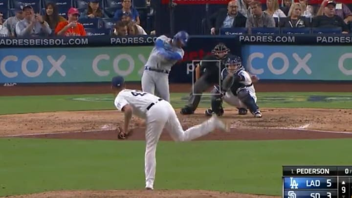 Joc Pederson's home run on Tuesday night against Padres shows the baseballs are juiced.
