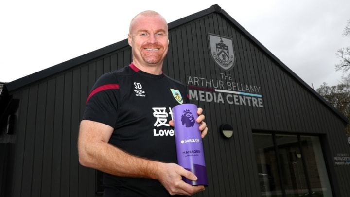 Dyche has enjoyed huge success at Burnley