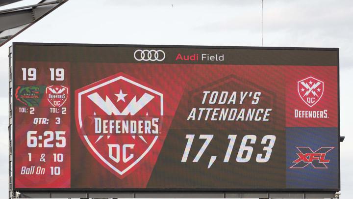 Seattle Dragons v DC Defenders