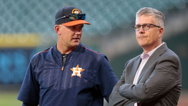 The Houston Astros fired skipper AJ Hinch and GM Jeff Luhnow