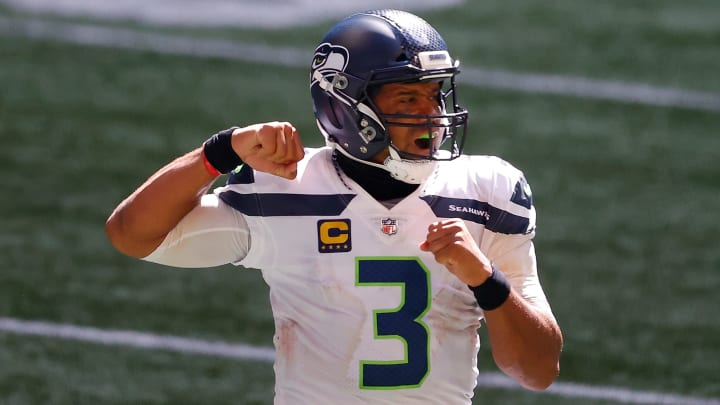 Russell Wilson's MVP odds have continued to rise after back-to-back incredible performances this season.
