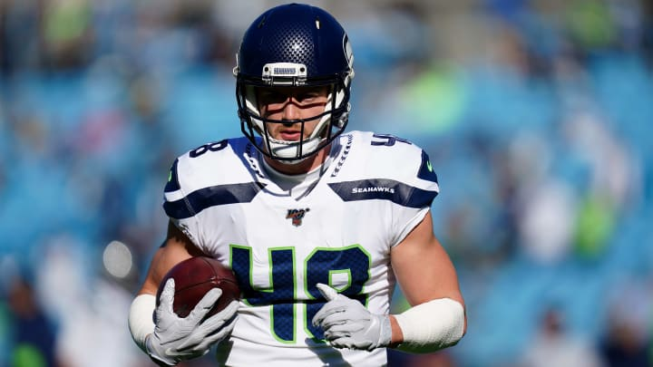 Patriots Trading Jacob Hollister to Seahawks Last Year for Nothing Was Clearly a Big Mistake