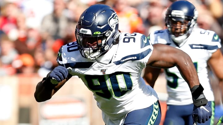 Seattle Seahawks defensive end Jadeveon Clowney