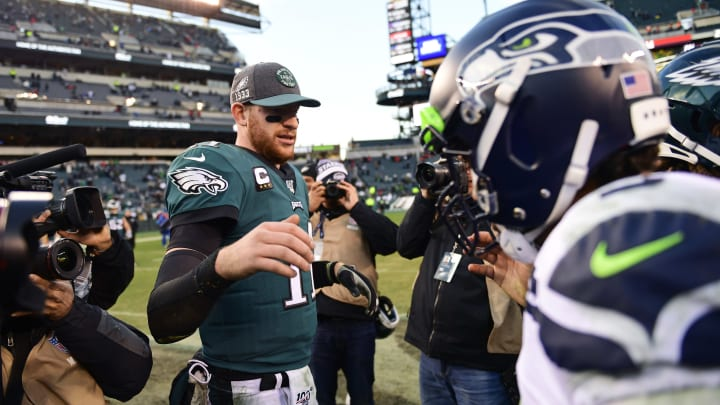 Eagles Provide Positive Injury Update On Carson Wentz