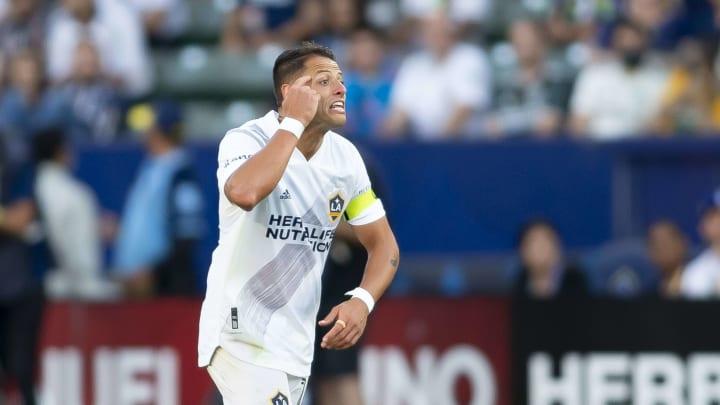 El jugador Javier 'Chicharito' Hernández.