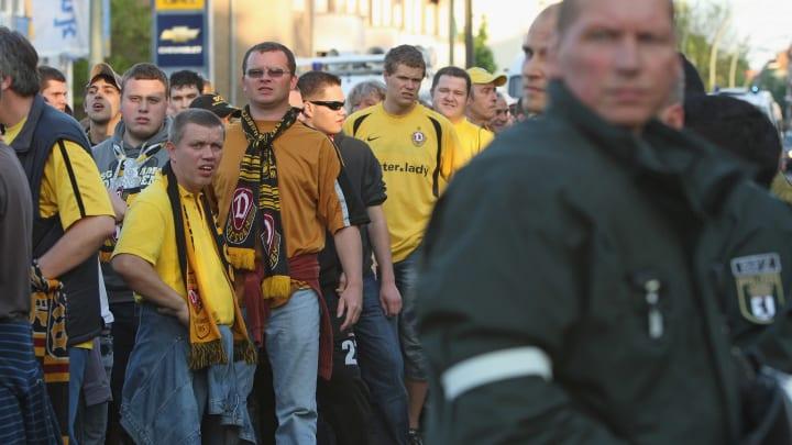 Die Dynamo-Fans gelten als besonders frenetisch