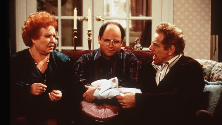 George Costanza reflects Jamal Adams' desire to leave New York.